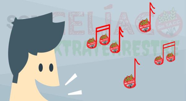 Música y humor libre de gluten