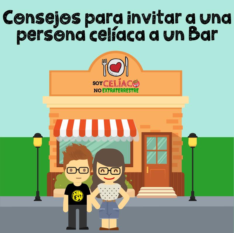 5 aspectos a tener en cuenta para invitar a una persona celíaca a un bar