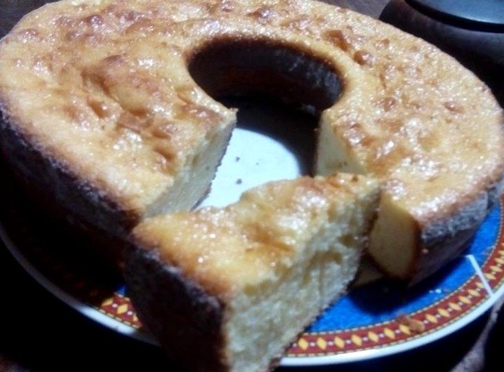Rosca dulce libre de gluten