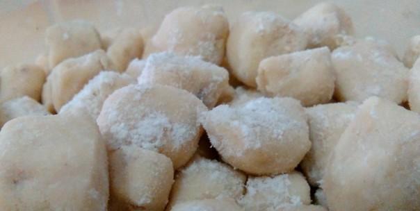Ñoquis de soja libres de gluten
