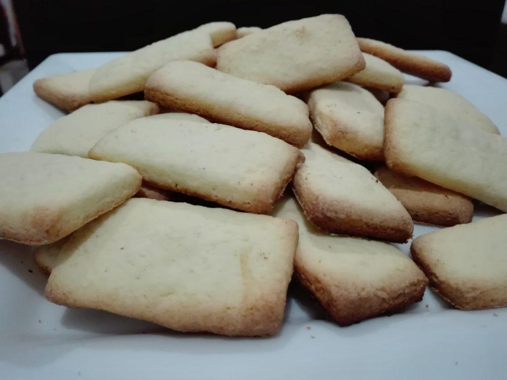 Galletas de limón sin gluten