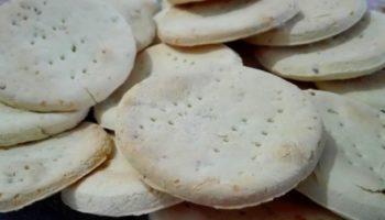 Galletas alfajores de anís sin gluten
