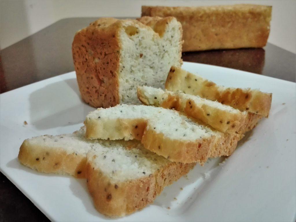 Pan de chía para celíacos