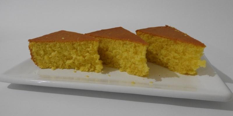 Bizcochuelo sin gluten y sin lactosa