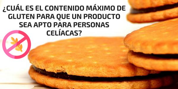 Cuánto gluten puede contener un producto
