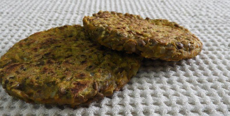 Hamburguesas de lentejas caseras sin gluten