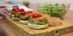 Recetas saludables: Hamburguesas vegetarianas sin gluten