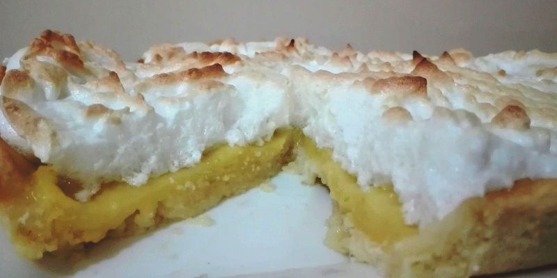 Lemon Pie sin gluten