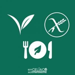 Diferencia entre personas celíacas, veganas y vegetarianas