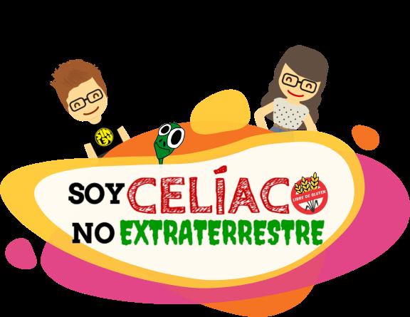 Portada Soy Celíaco, No Extraterrestre