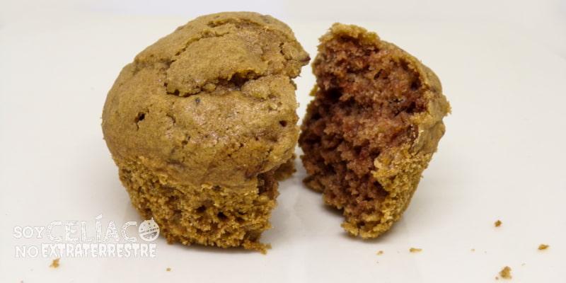 cupcakes de lenteja sin gluten