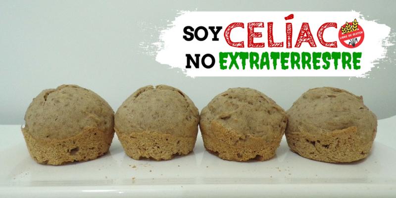 Cupcackes de lentejas sin gluten y sin lactosa