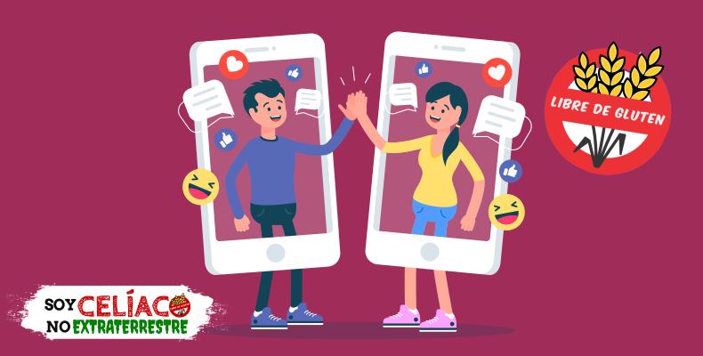 Celíacos y celíacas en las redes sociales