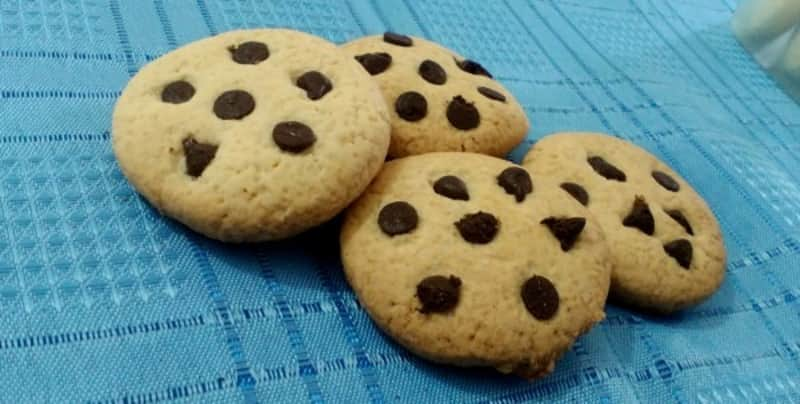 Galletas sin TACC con chips de chocolate