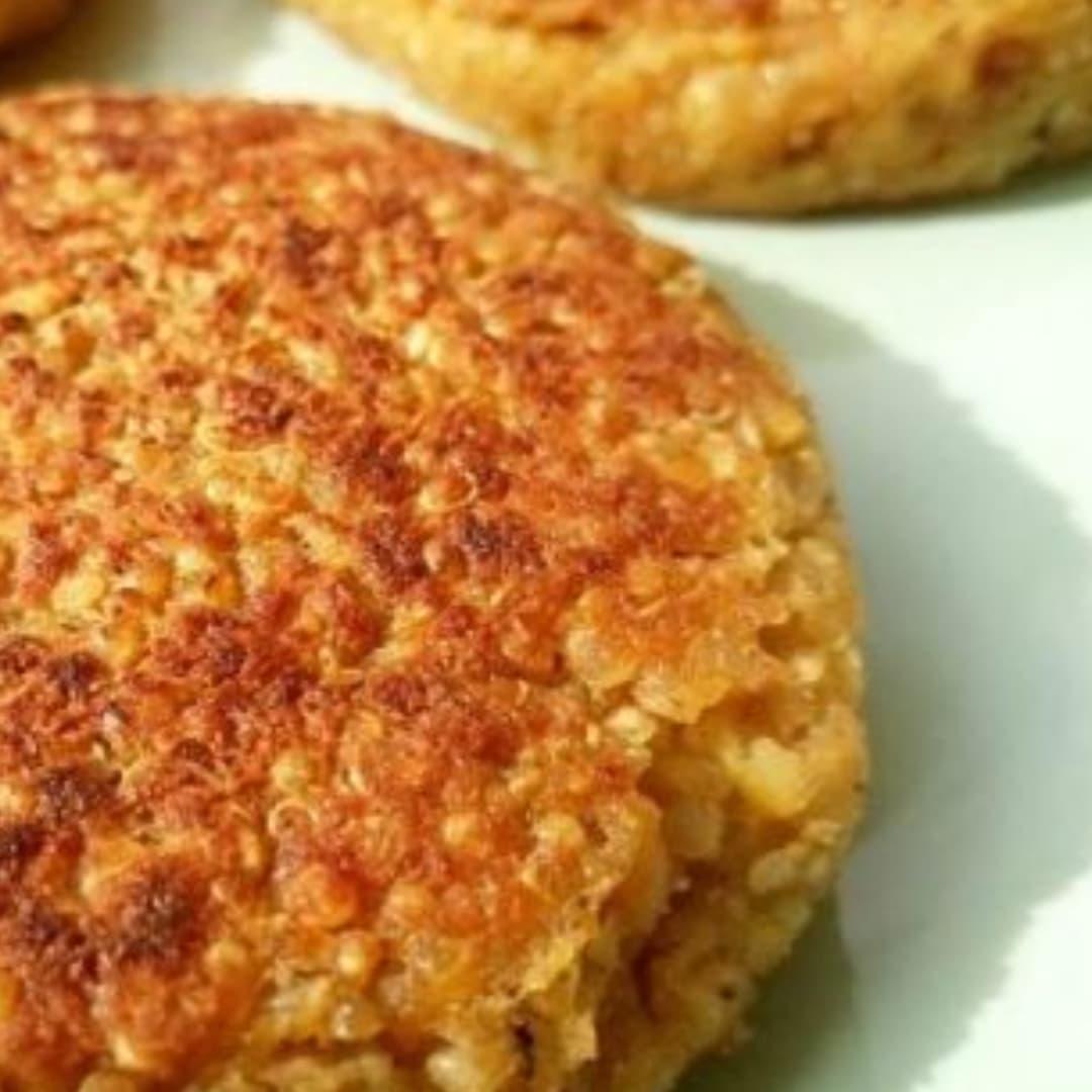Hamburguesas de quinoa sin gluten