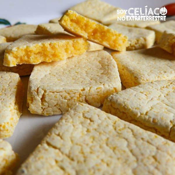 Galletitas de polenta sin TACC