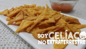 nachos sin TACC (sin gluten) sin lácteos