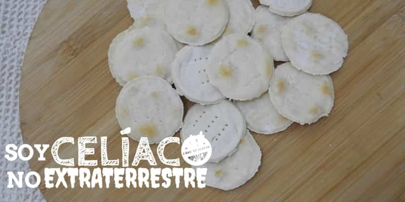 galletas marineras sin TACC (sin gluten)