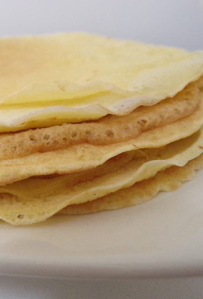 Panqueques sin gluten