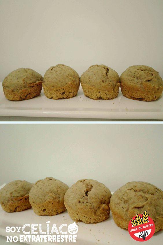 cupcakes de lentejas sin gluten y sin lactosa