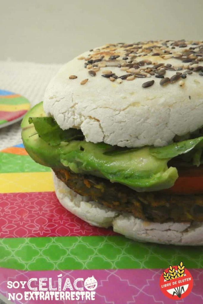 hamburguesas de lentejas sin gluten