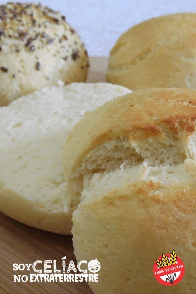 Pan sin TACC para sándwich