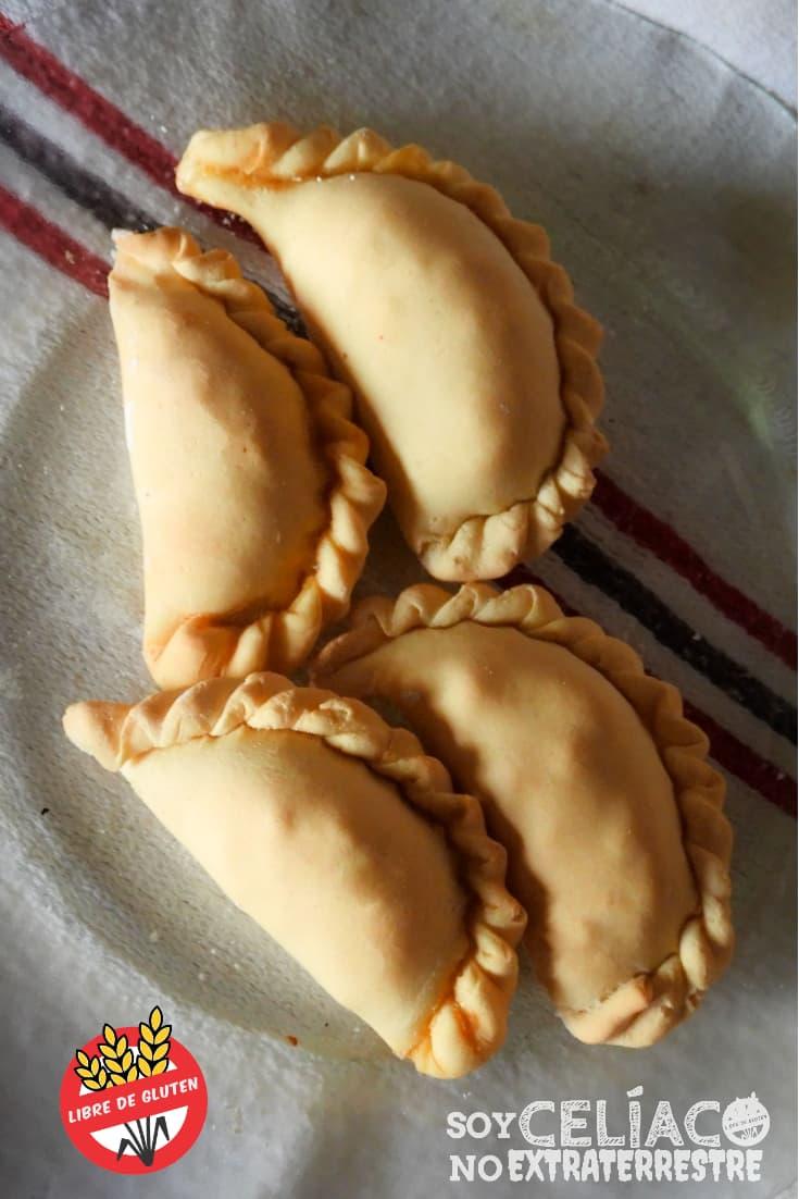 Empanadas para celíacos