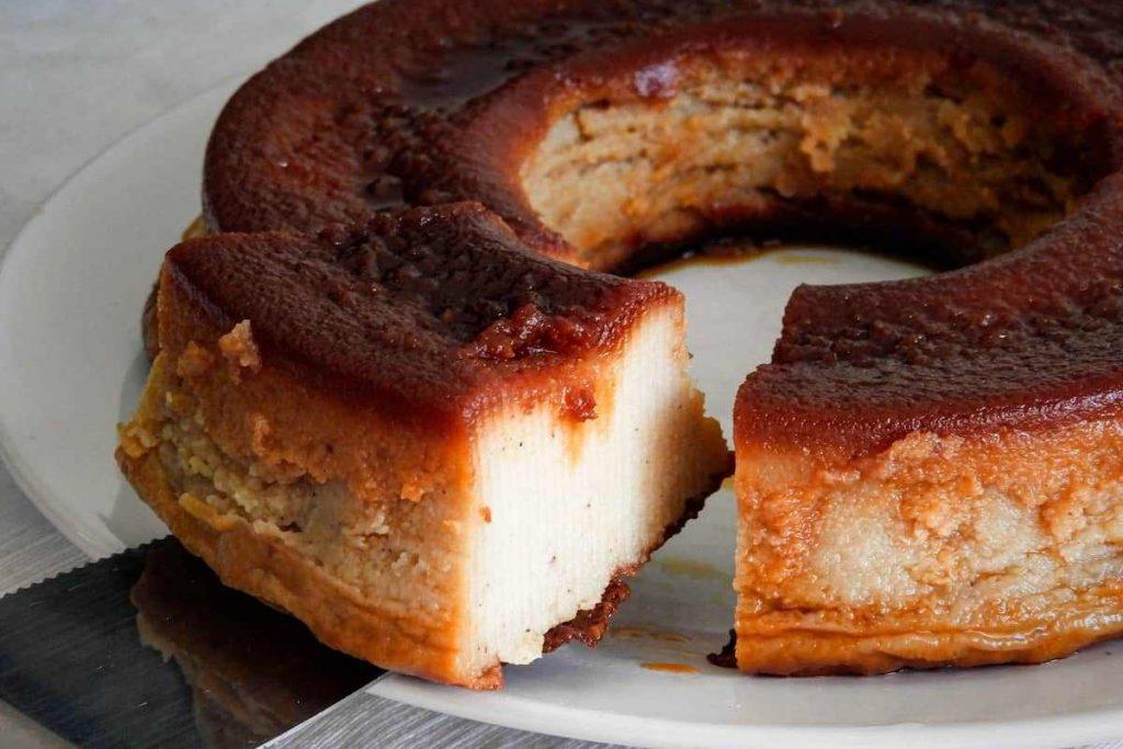 Budín de pan sin gluten