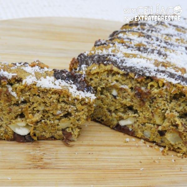 Torta de zanahoria sin harina