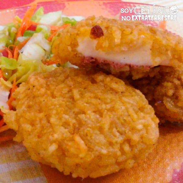 Croquetas de arroz sin gluten
