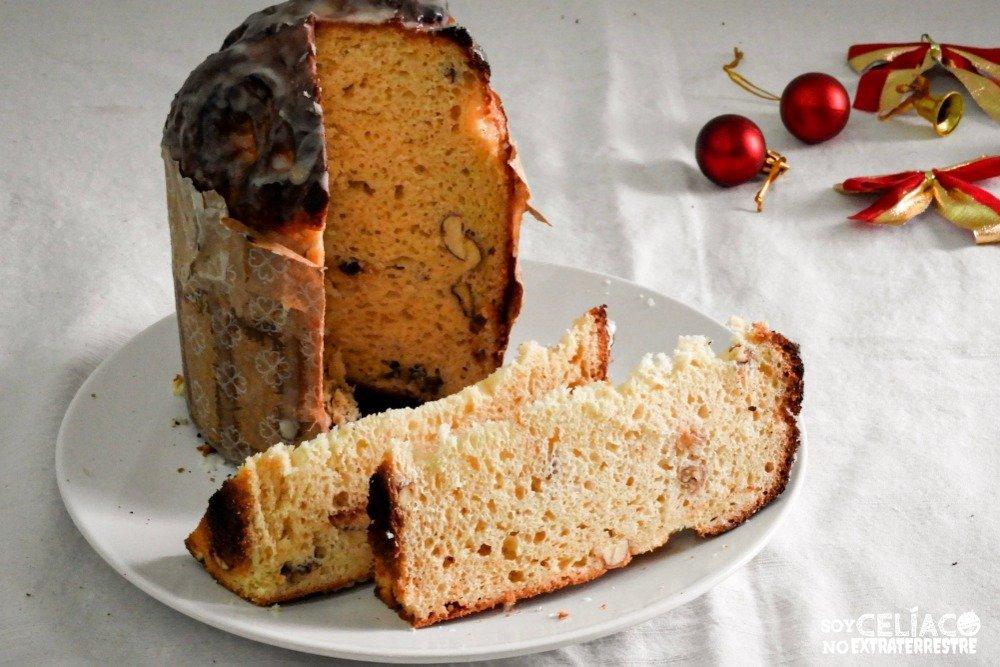 pan dulce sin TACC con premezcla