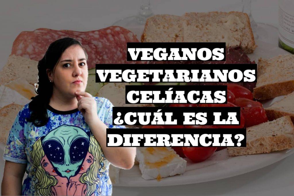personas celíacas, veganas y vegetarianas