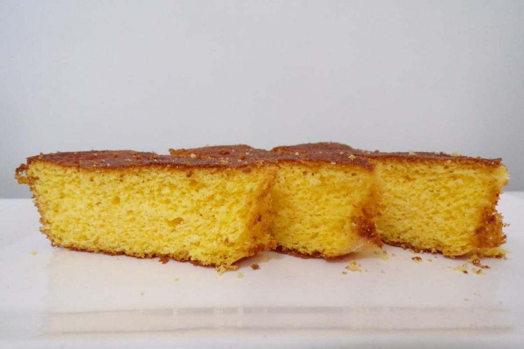 torta sin gluten de harina de maíz