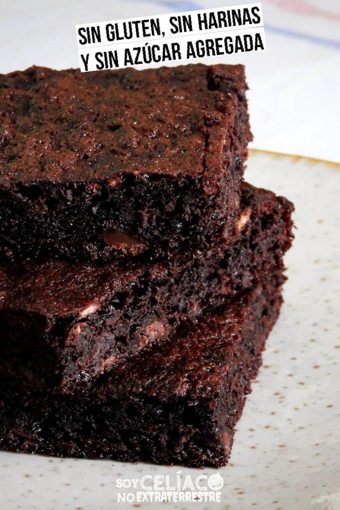 Brownie sin harina y sin TACC