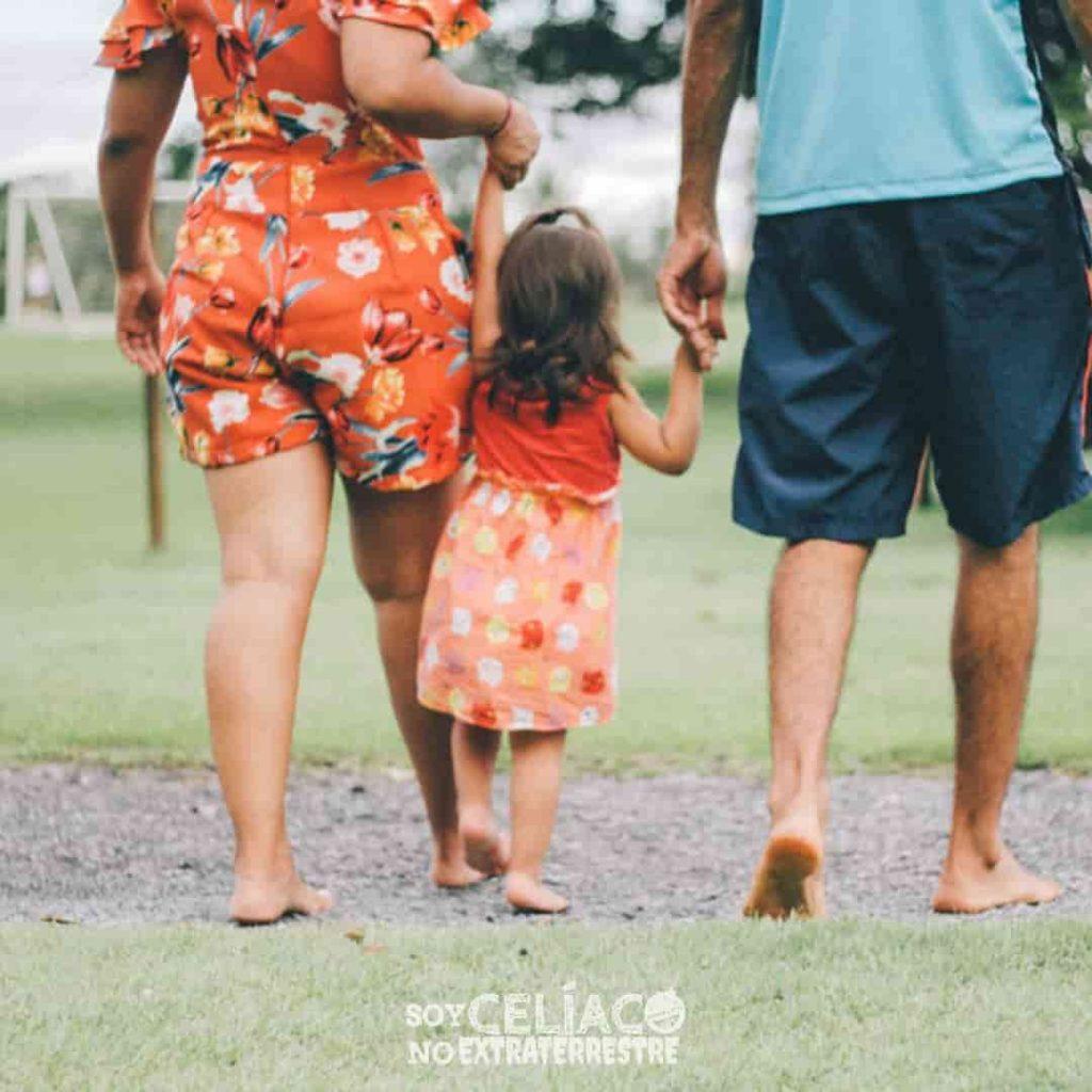 Niñas y niños con celiaquía