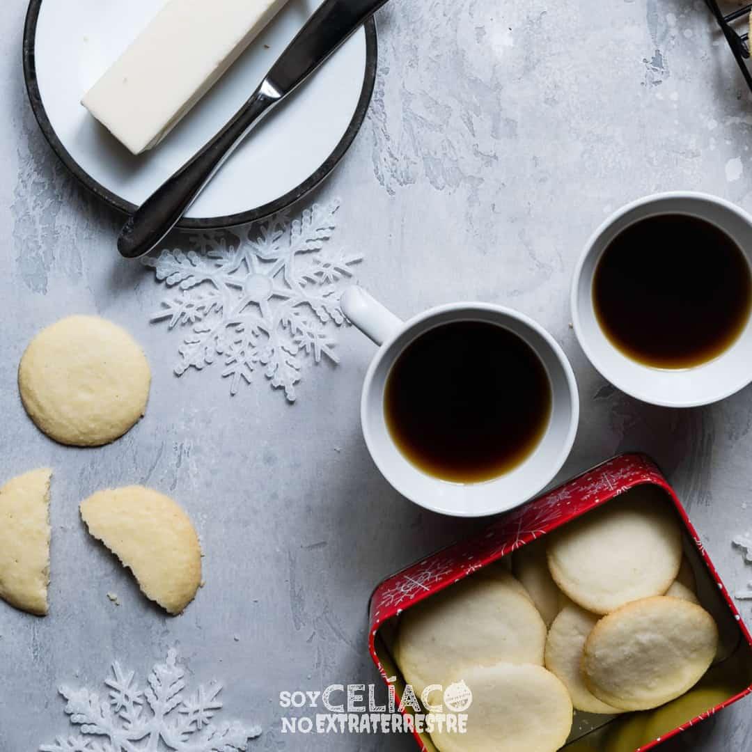 Recetario navideño libre de gluten para descargar e imprimir