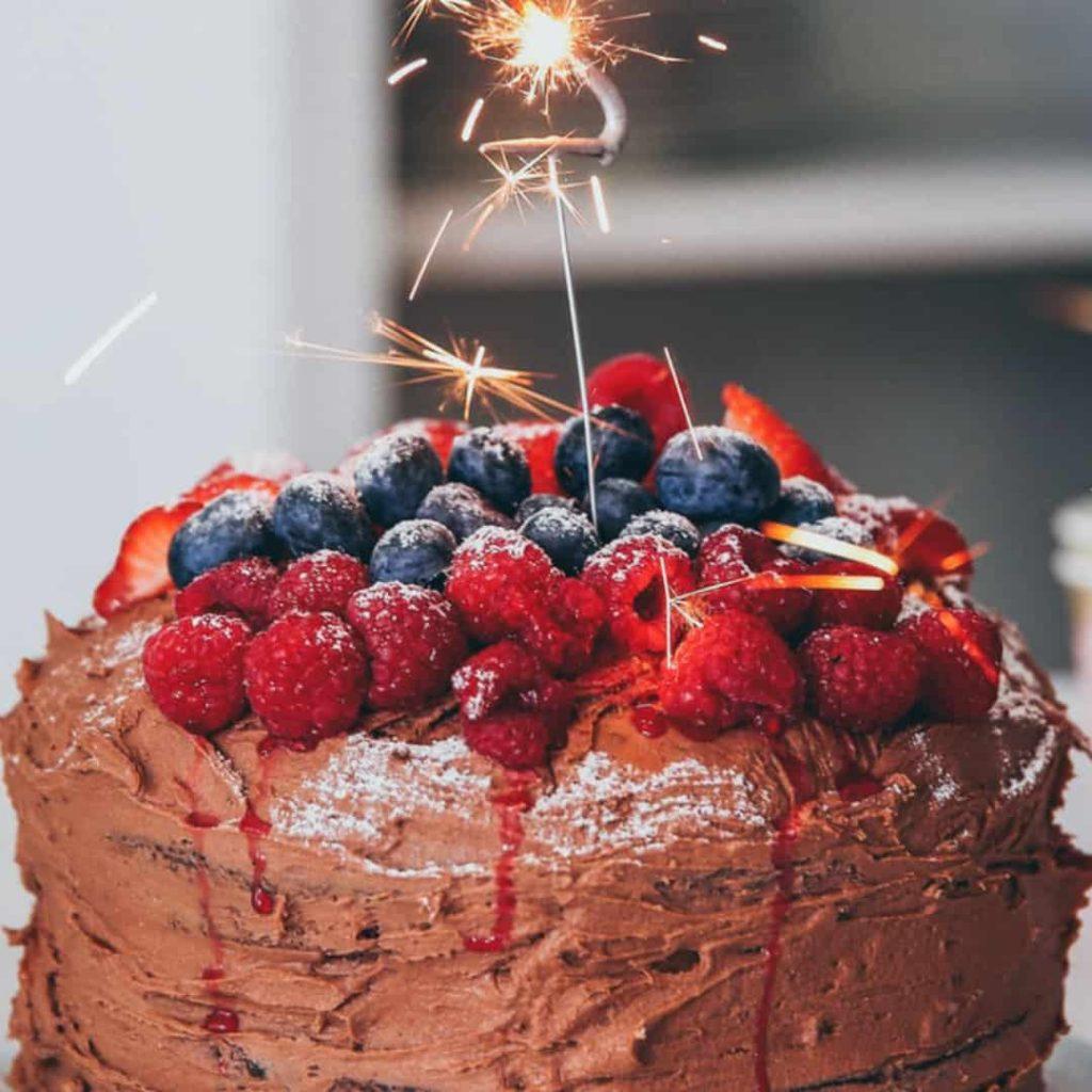 Tortas de cumpleaños sin gluten