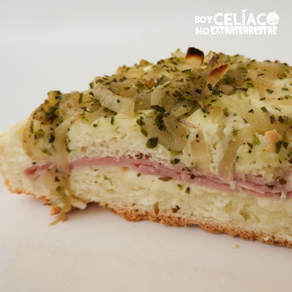 Calzone sin gluten