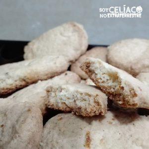 Galletas especiadas sin gluten
