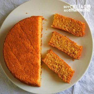torta de polenta sin harina