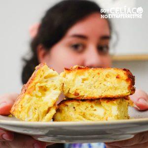 sopa paraguaya sin gluten