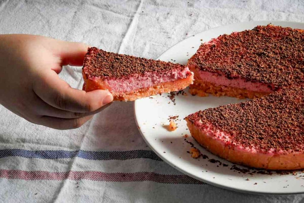 tarta dulce sin horno y sin gluten