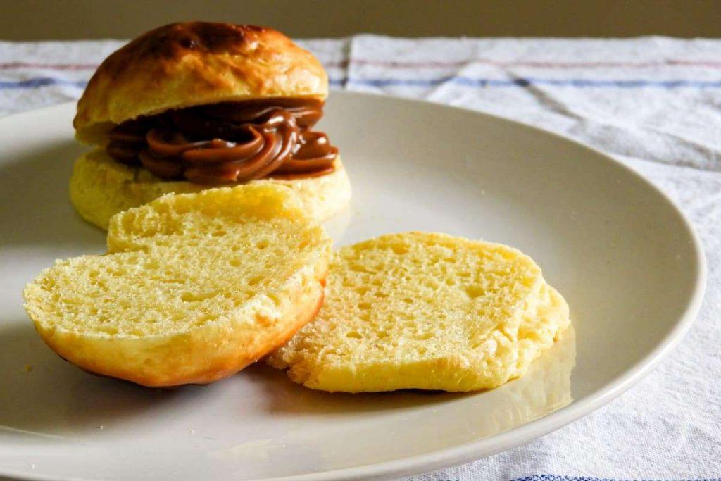 Pan sin harina - pan de leche sin harina