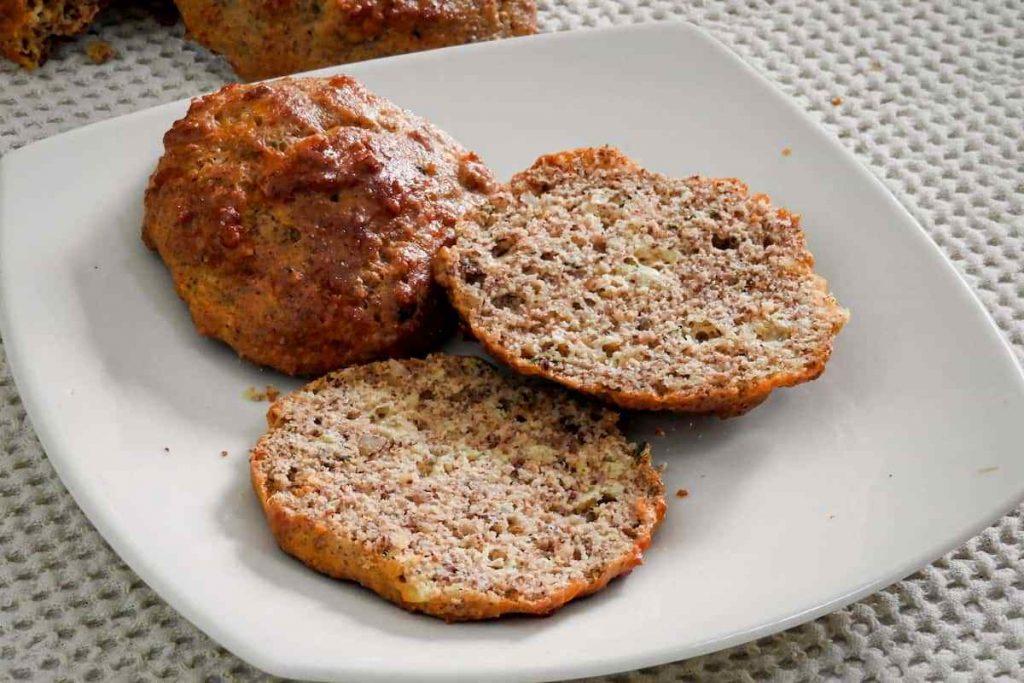 Pan keto sin gluten y sin harina