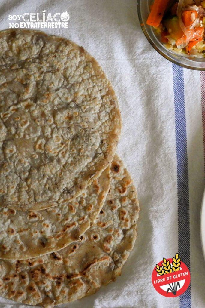 Tacos Sin Tacc 2 Recetas De Masa Para Tacos Sin Tacc Muy Flexibles