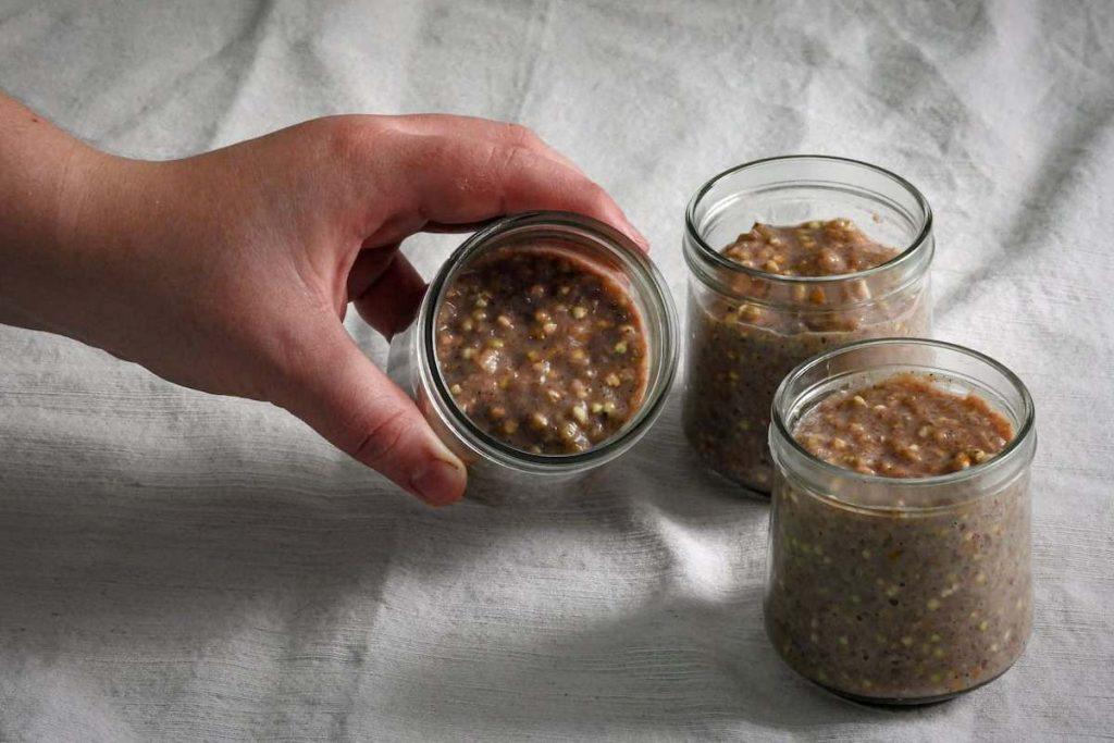 Pudding de trigo sarraceno