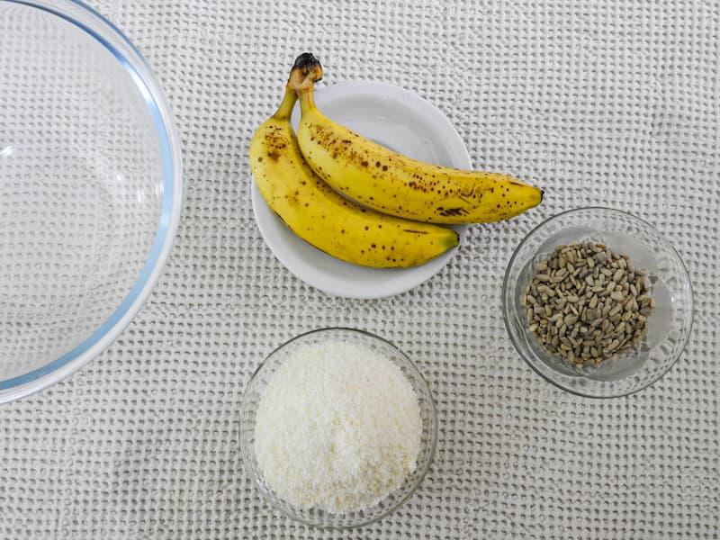 Ingredientes de las galletas sin harina